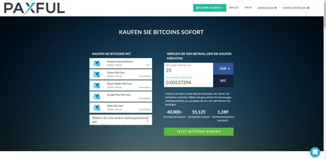 bitcoins kaufen bargeld verschicken