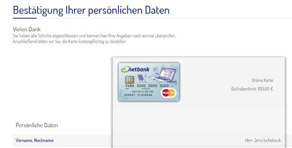 Kreditkarte ohne Schufa 10