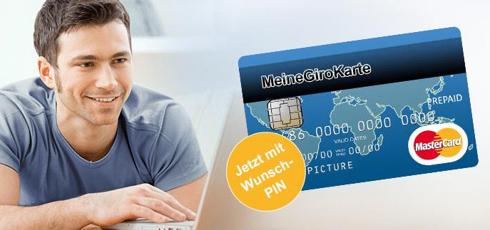 prepaid Kreditkarte MeineGiroKarte